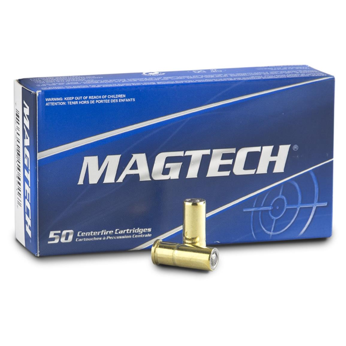 Magtech® Revolver .32 S&W® Long 98 Grain LWC 50 rounds
