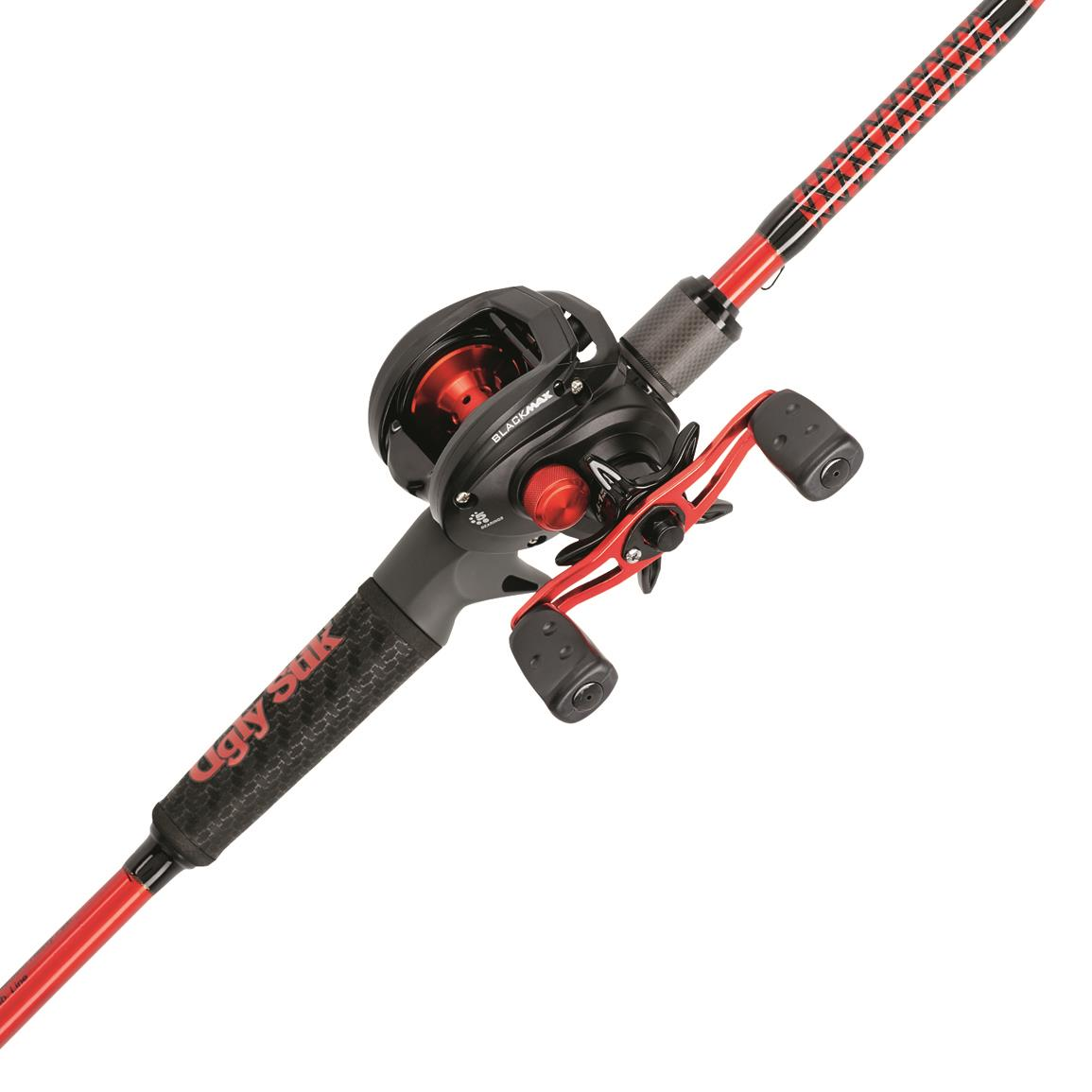 Ugly Stick® Carbon Series Baitcasting Rod and Reel Combo