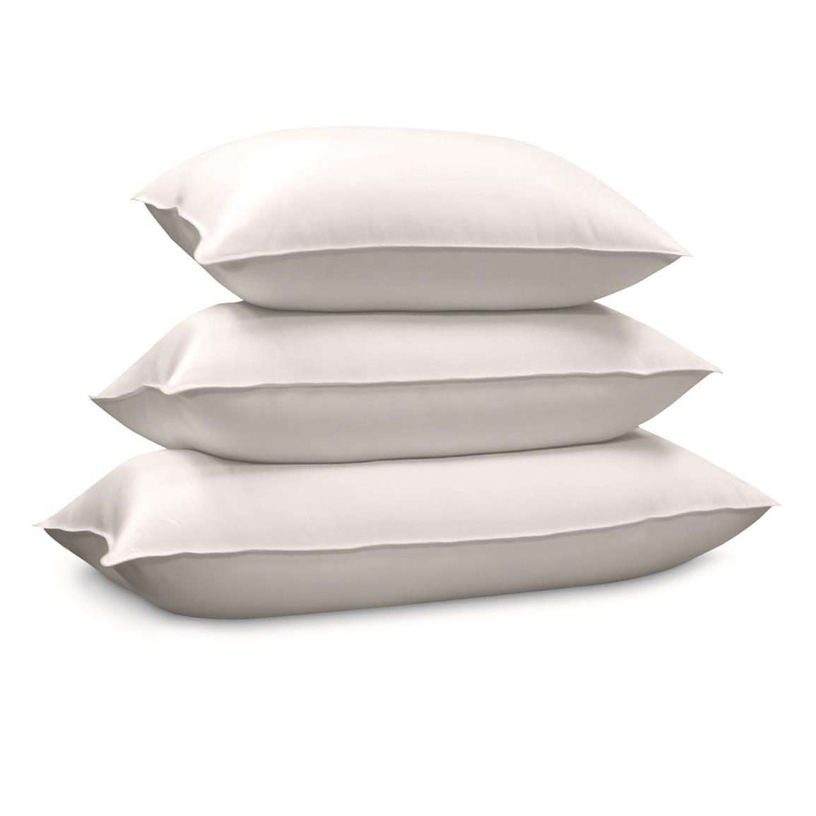 Blue Ridge Siberian Down Pillow, White