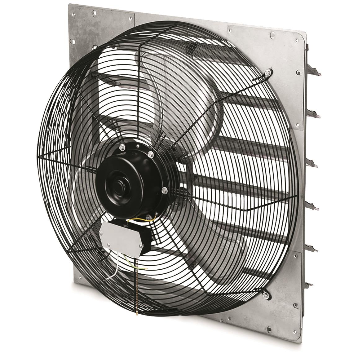Q Standard Exhaust Fan with Shutter, 16""