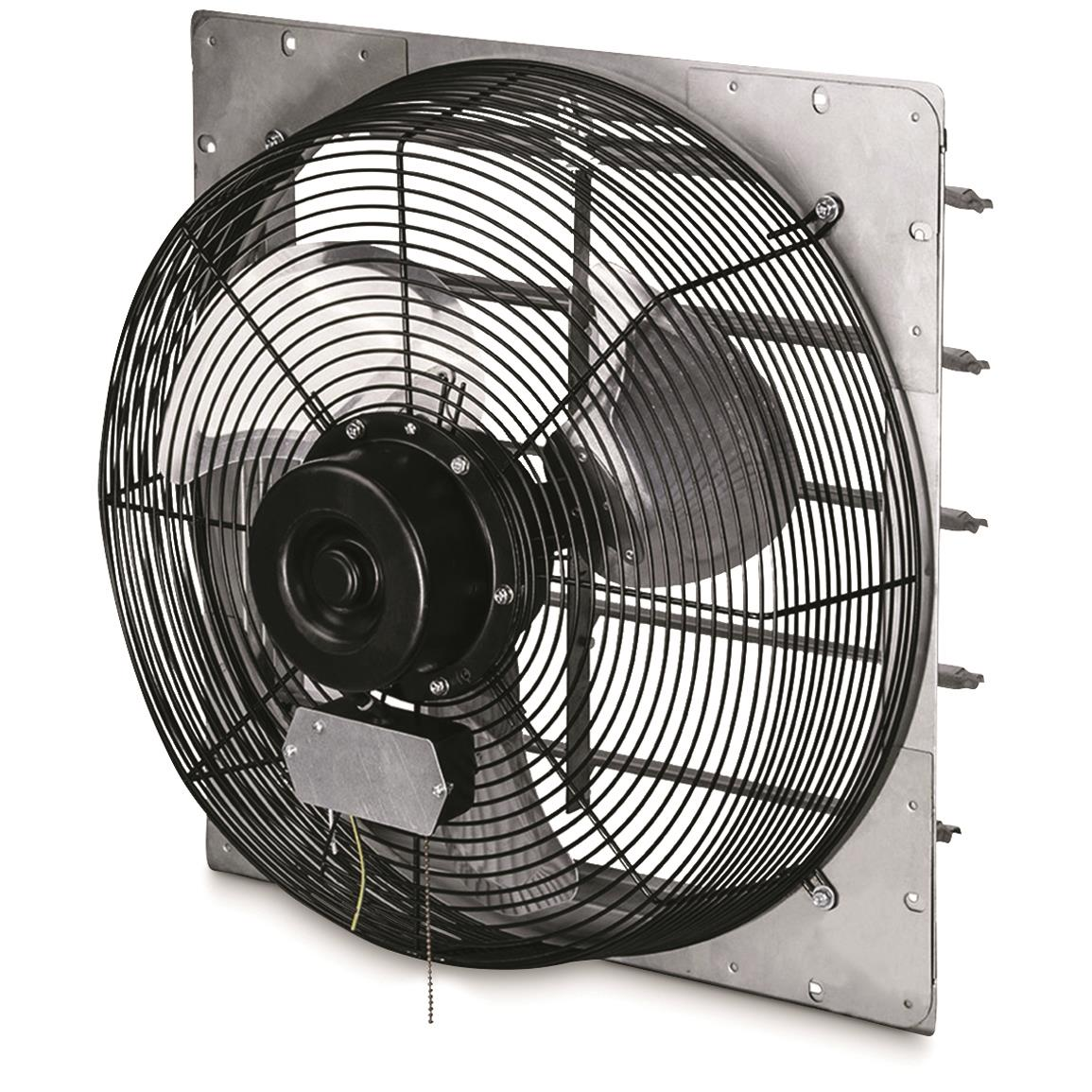 Q Standard Exhaust Fan with Shutter, 12""