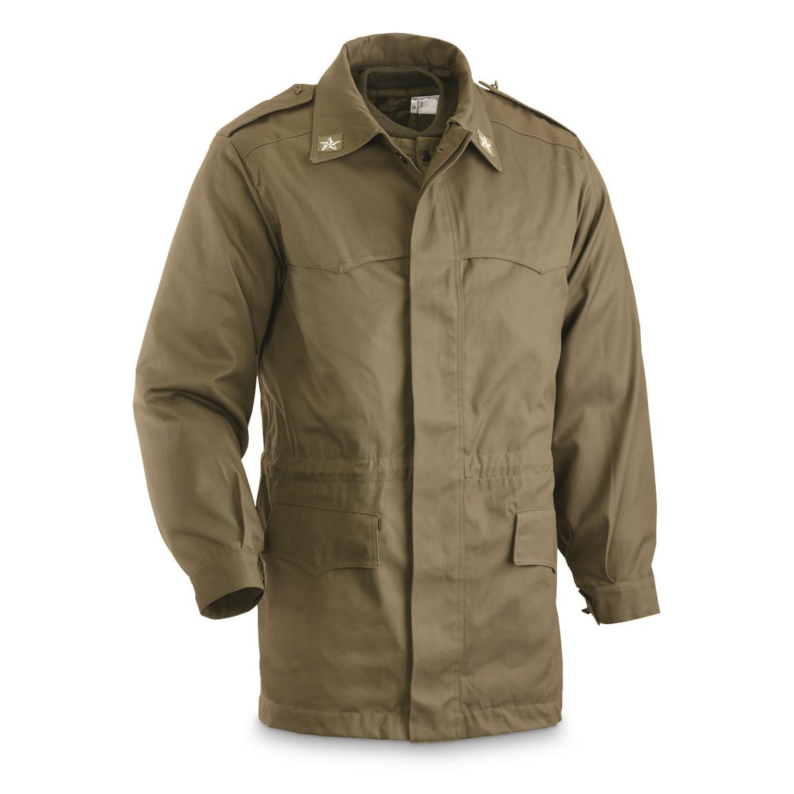 Italian Military Surplus Insulated Parka, New