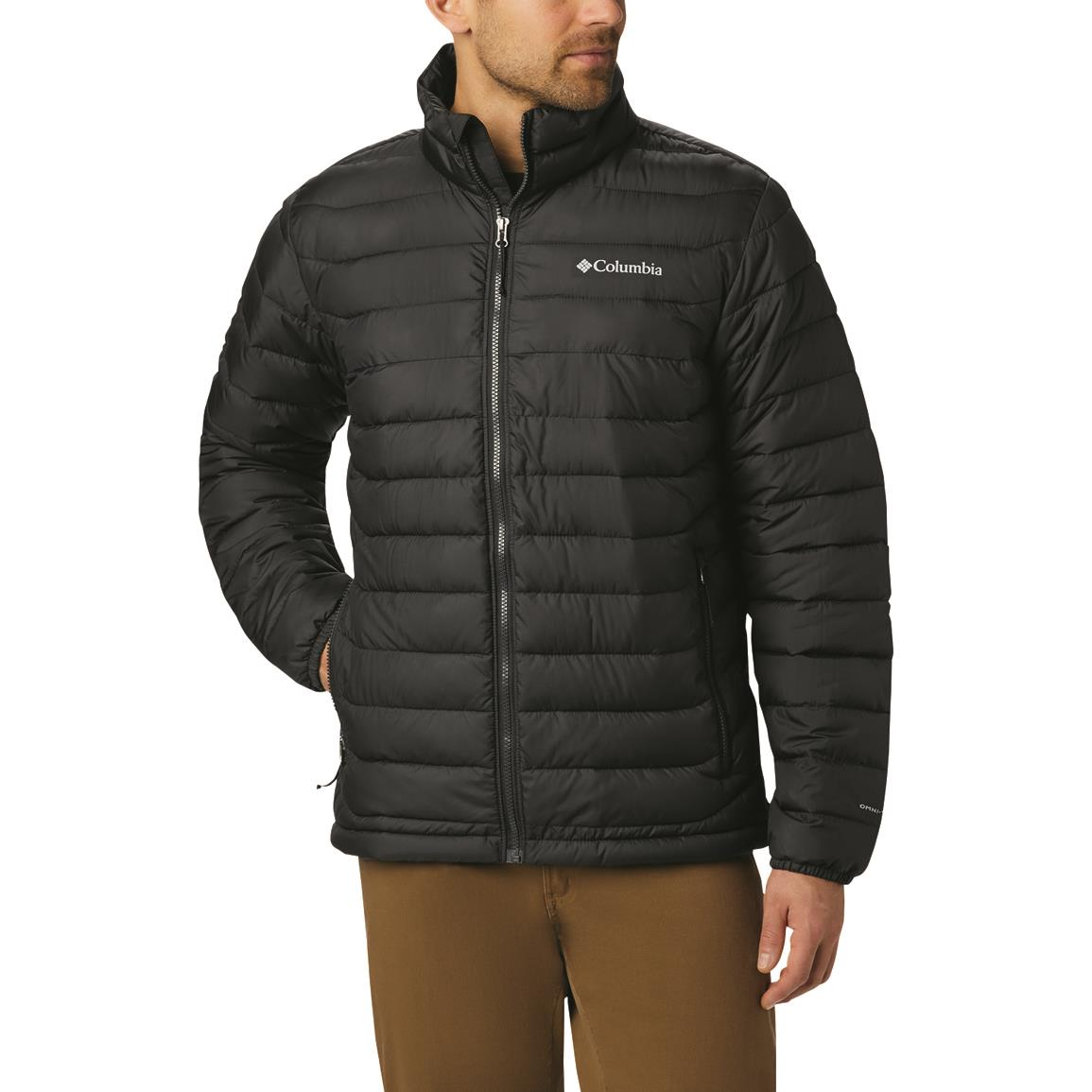 Columbia Men's Powder Lite Insulated Jacket, Black