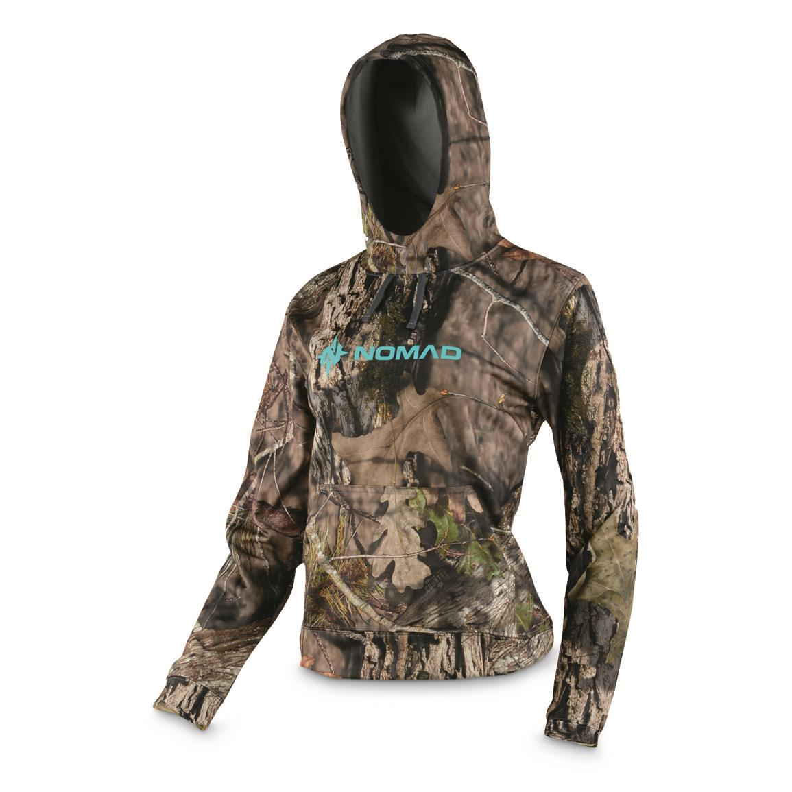 NOMAD Women's Southbounder Camo Hunting Hoodie, Mossy Oak Break-Up® COUNTRY™