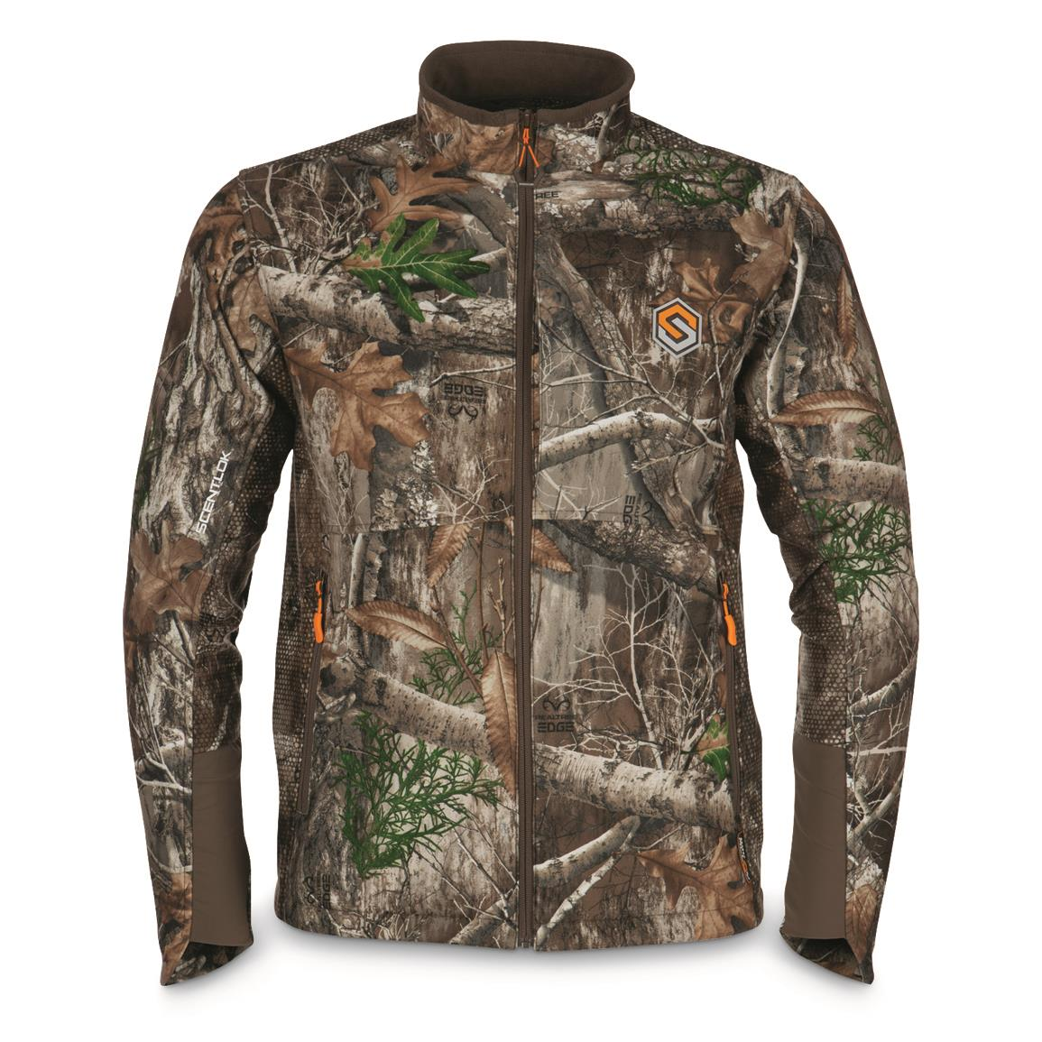 ScentLok Men's Forefront Hunting Jacket, Realtree EDGE™
