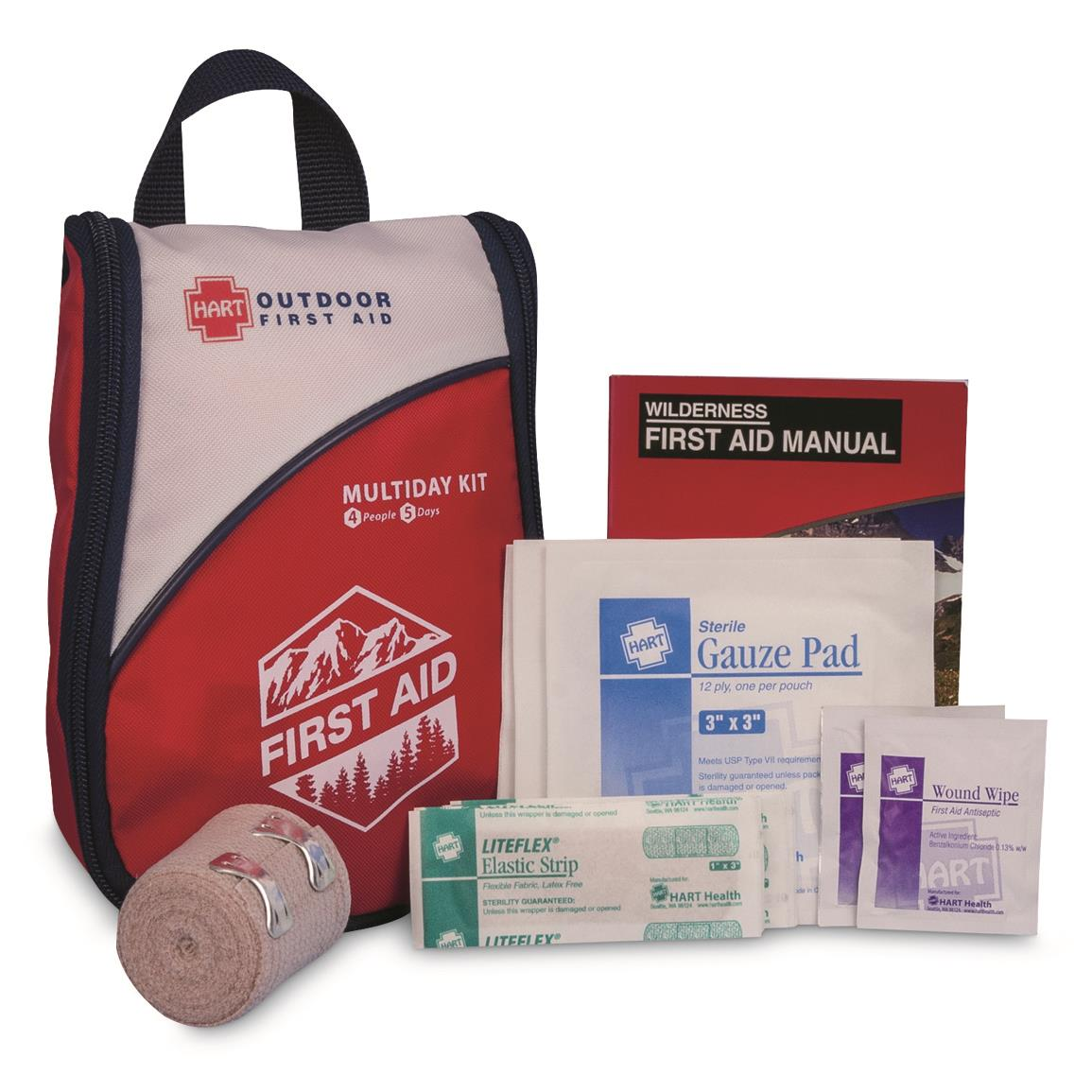 Contains 71 first aid items