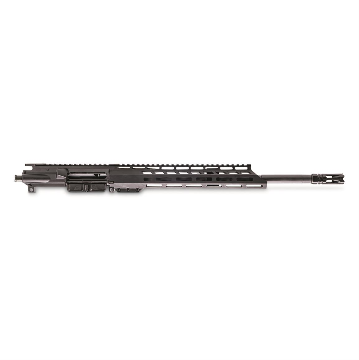 "Anderson AM-15 5.56/.223 Upper Receiver Less BCG/Charge Handle, 16"" BBL, Mid Gas, M-LOK"