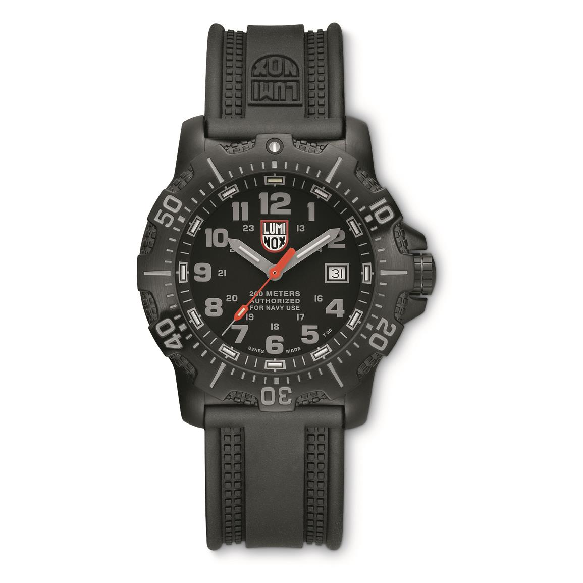 Luminox ANU 4221.NV.F Watch, Black/gray