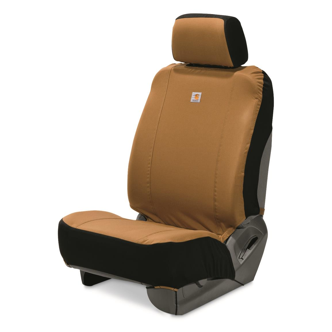 Carhartt Universal Low Back Seat Cover, Carhartt® Brown