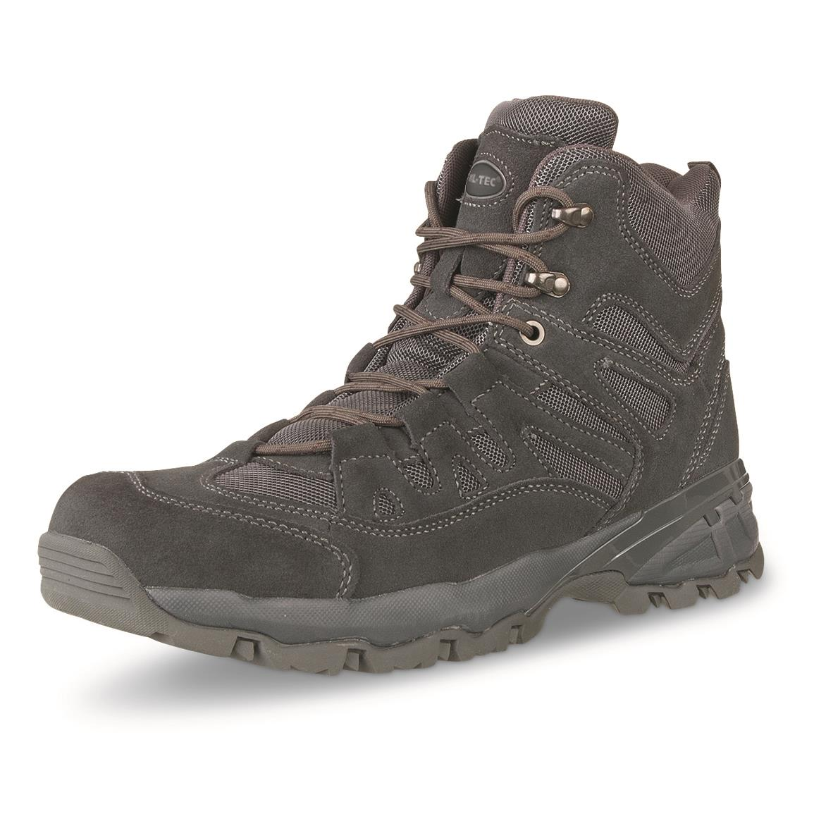 "Mil-Tec 5"" Tactical Squad Boots, Gray"