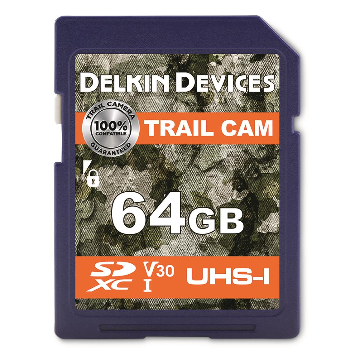 Delkin Devices 64GB SD Memory Card