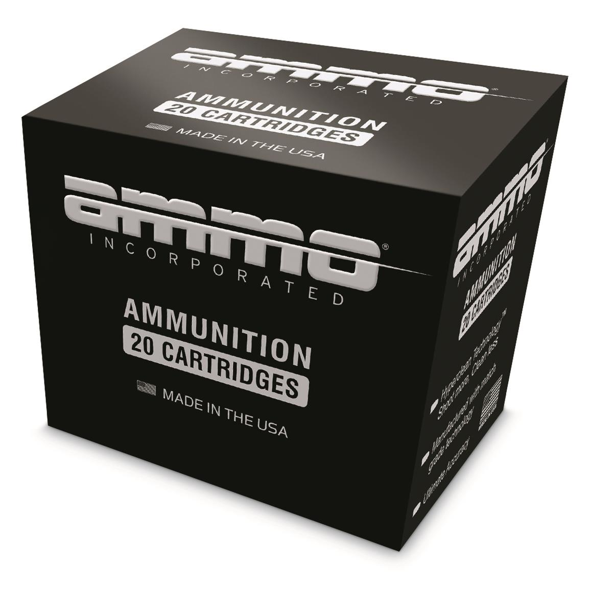 Ammo Inc. Signature, .300 AAC Blackout, FMJ, 147 Grain, 20 Rounds