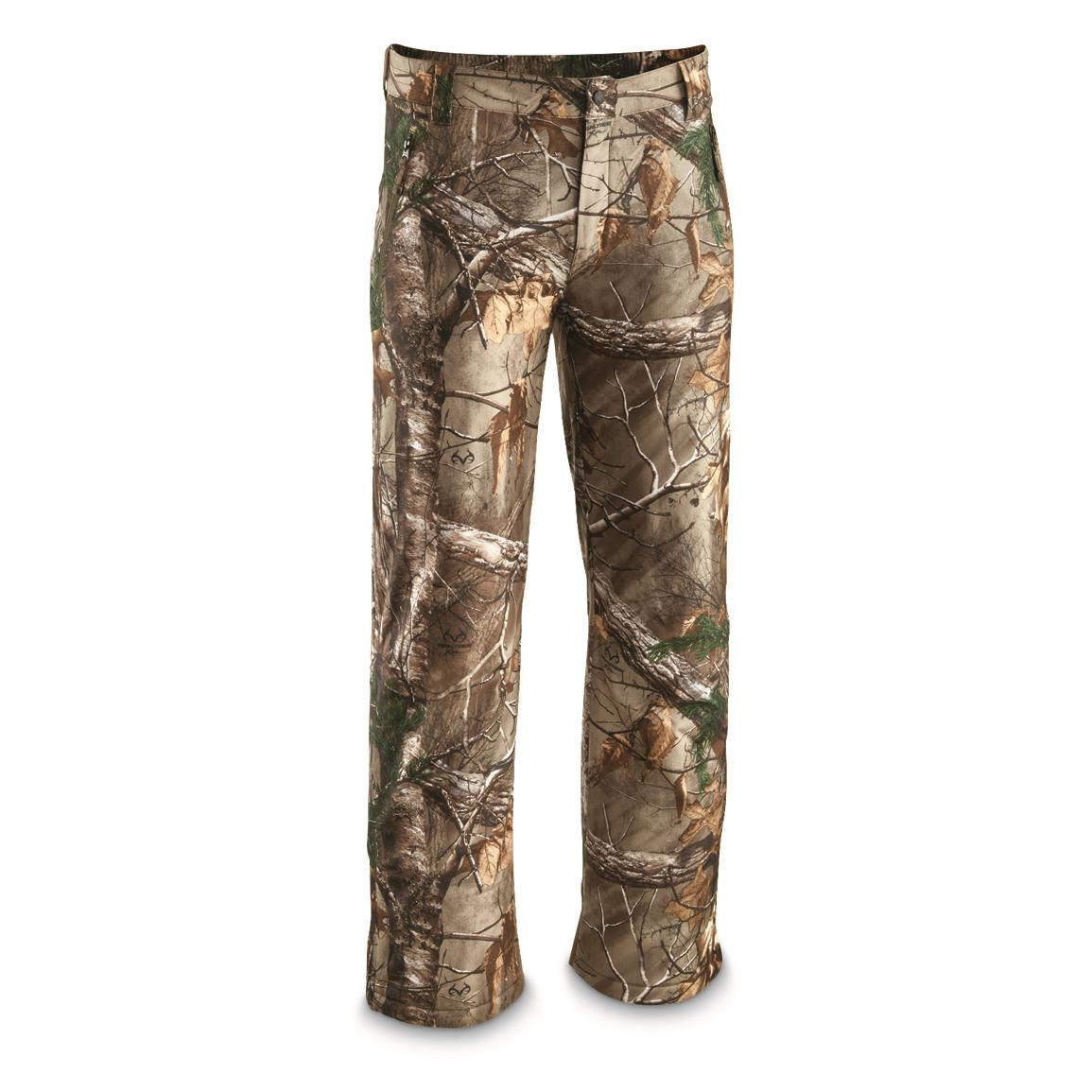 Women's Water Resistant Camo Hunting Pants, Realtree Xtra, Realtree Xtra®