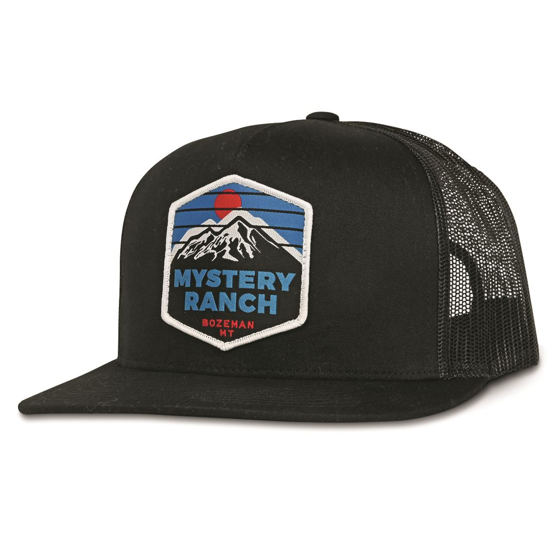 Mystery Ranch Over The MTN Trucker Cap, Black