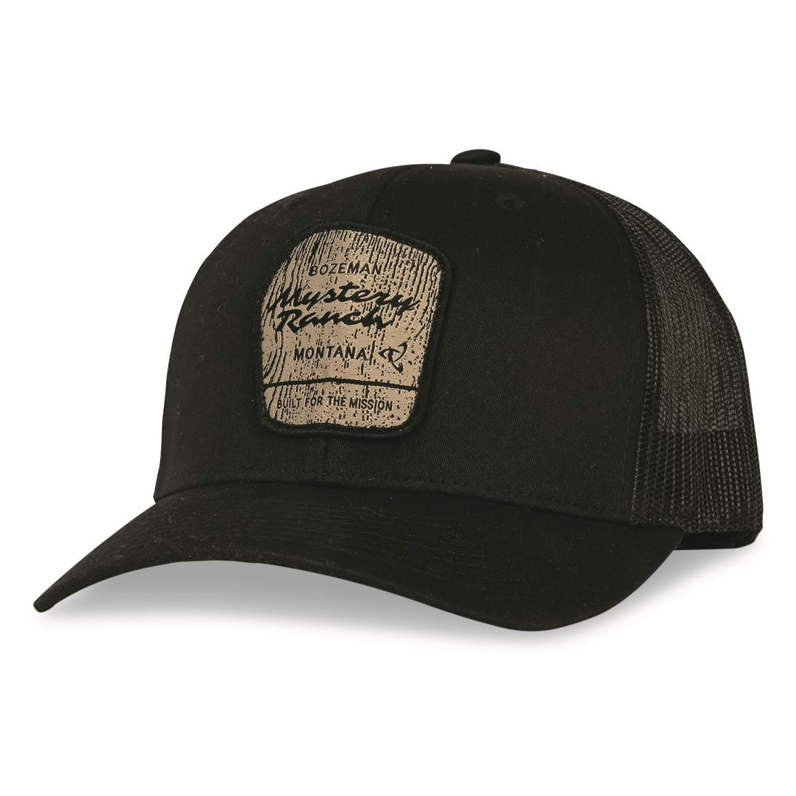 Mystery Ranch Wilderness Trucker Cap, Black