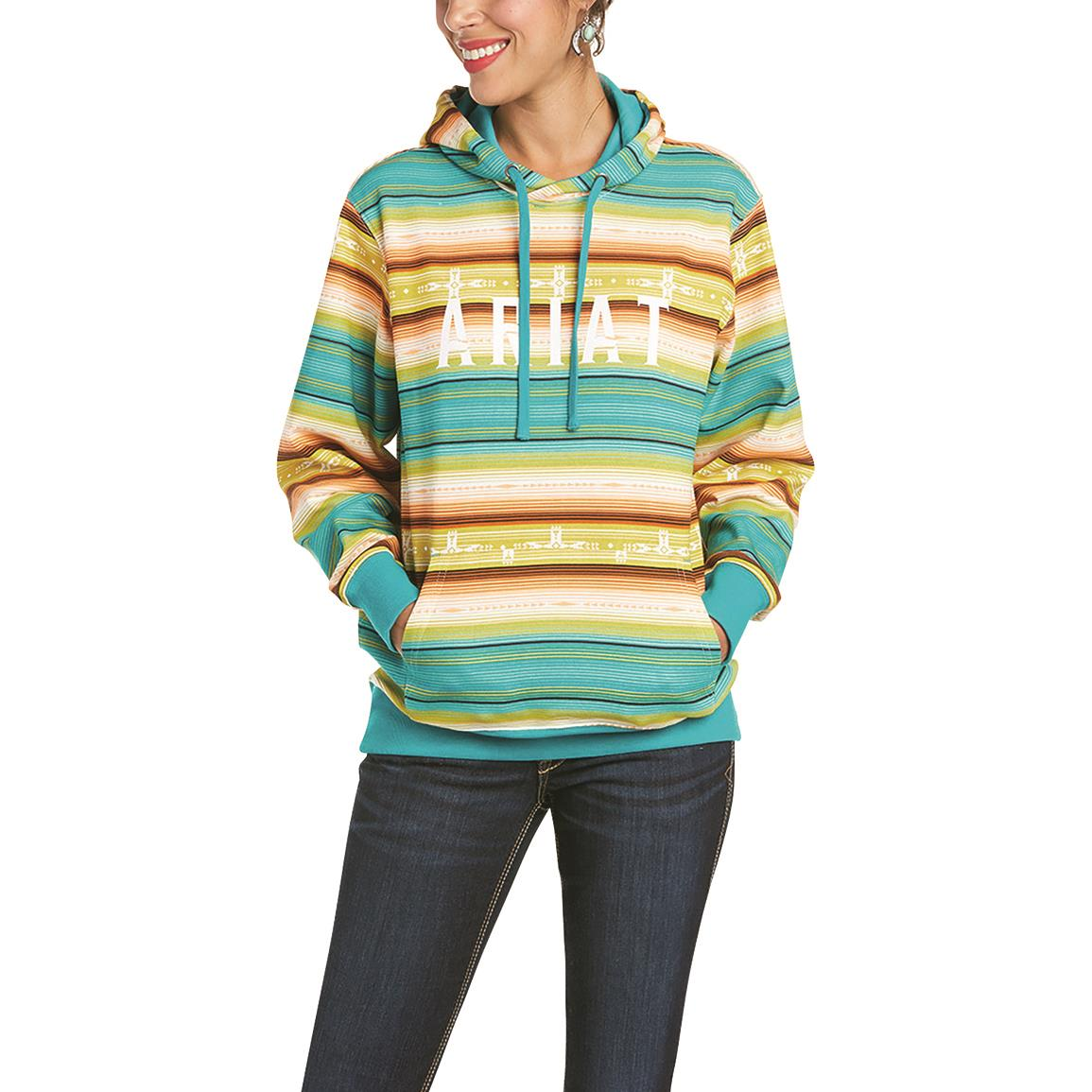 Ariat Women's REAL Baja Hoodie, Multi