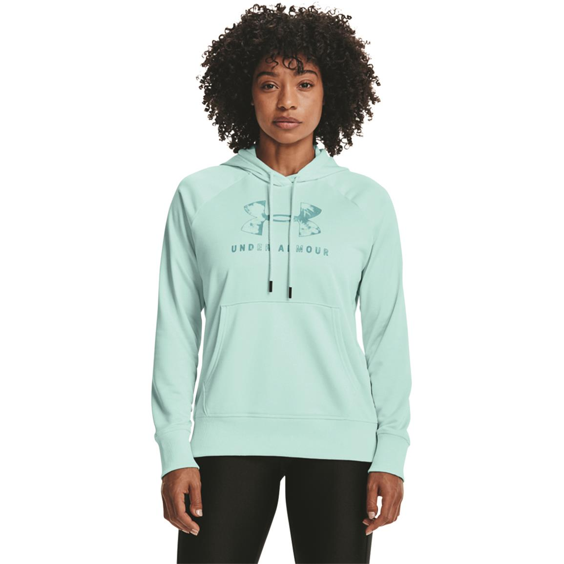 Under Armour Women's Shoreline Terry Hoodie, Breeze