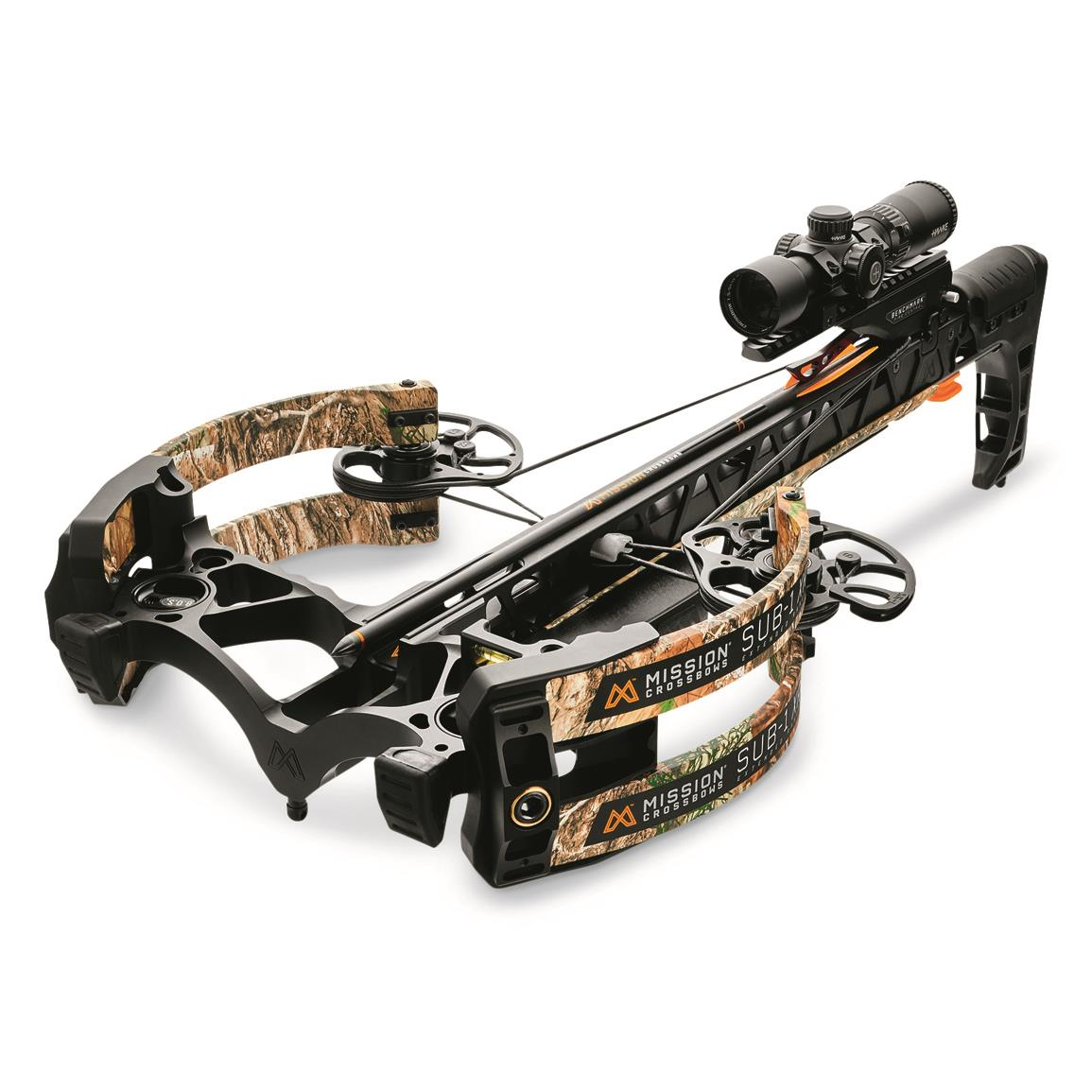Mission Sub-1 XR Crossbow with Pro Accessory Kit, Realtree EDGE