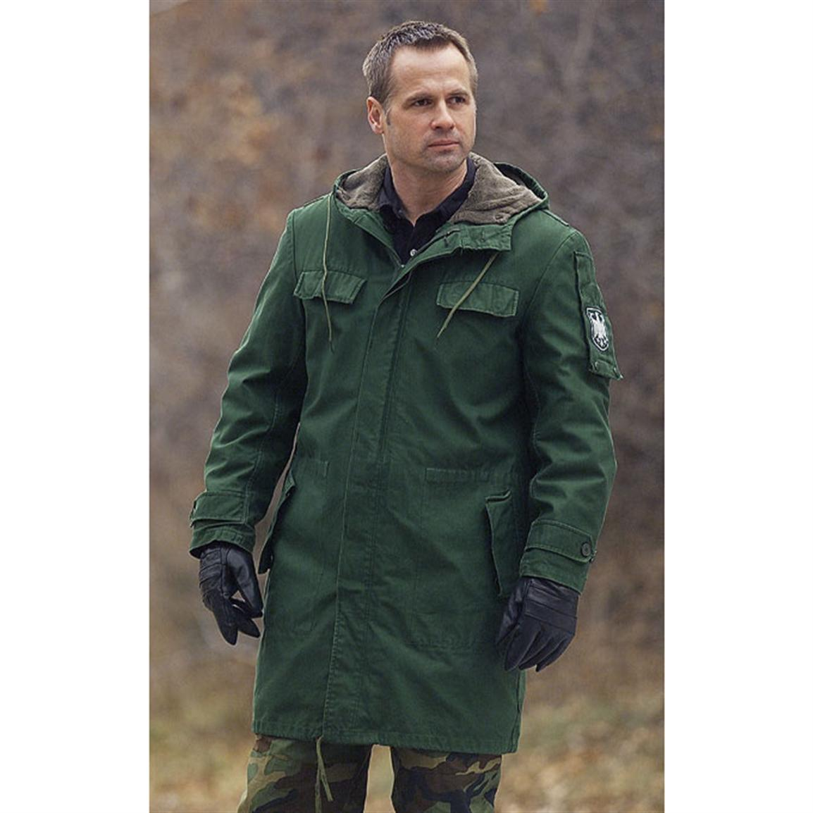 Used German Bgs Parka Green 72098 At Sportsman S Guide