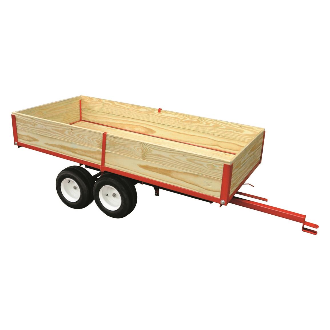 Country Manufacturing Tandem Trailer, 7' Bed