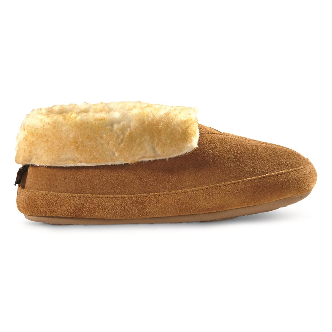 Genuine cowhide suede uppers for durable, long-lasting support
