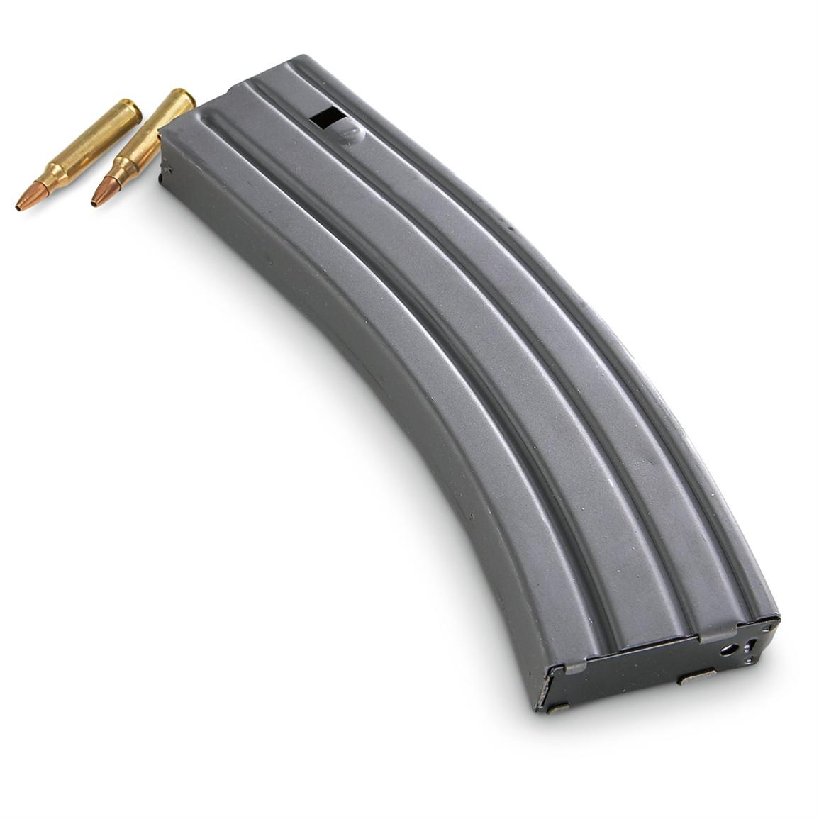 National Magazines AR-15 / M16 Steel Magazine, 40 Rounds
