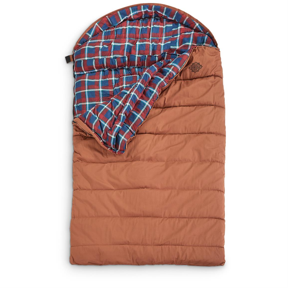 Guide Gear Cold Weather Double Sleeping Bag, 0 Degree