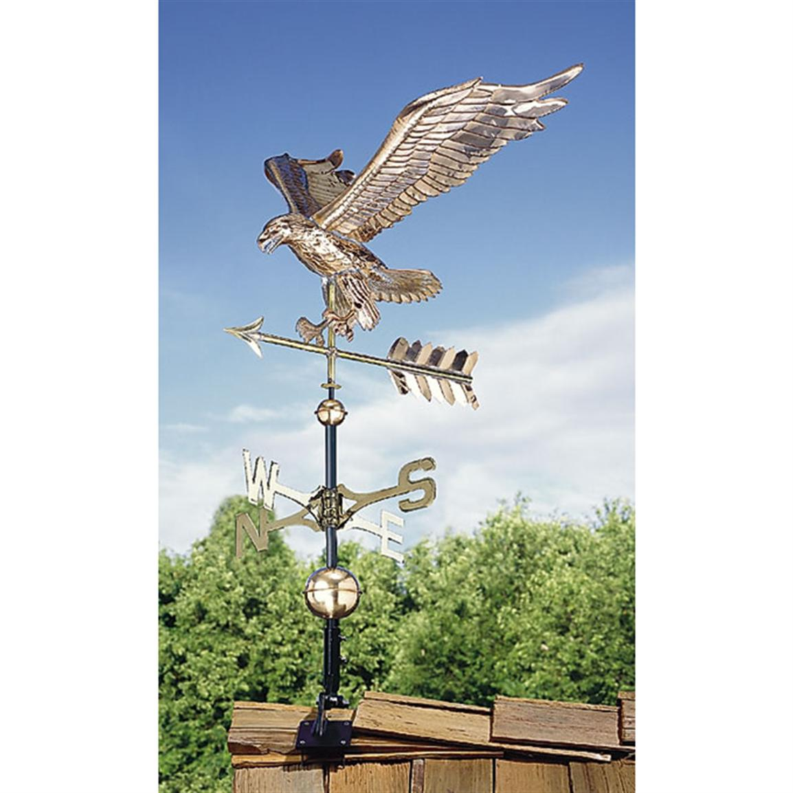 Copper Weathervane, Eagle