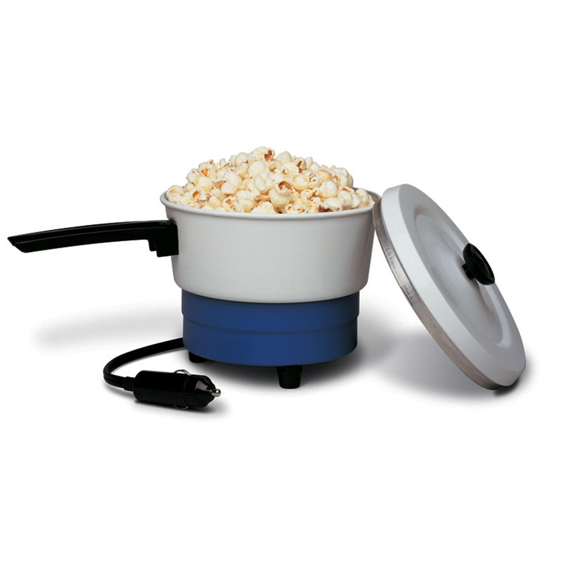 RoadPro 12-Volt Portable Saucepan and Popcorn Popper