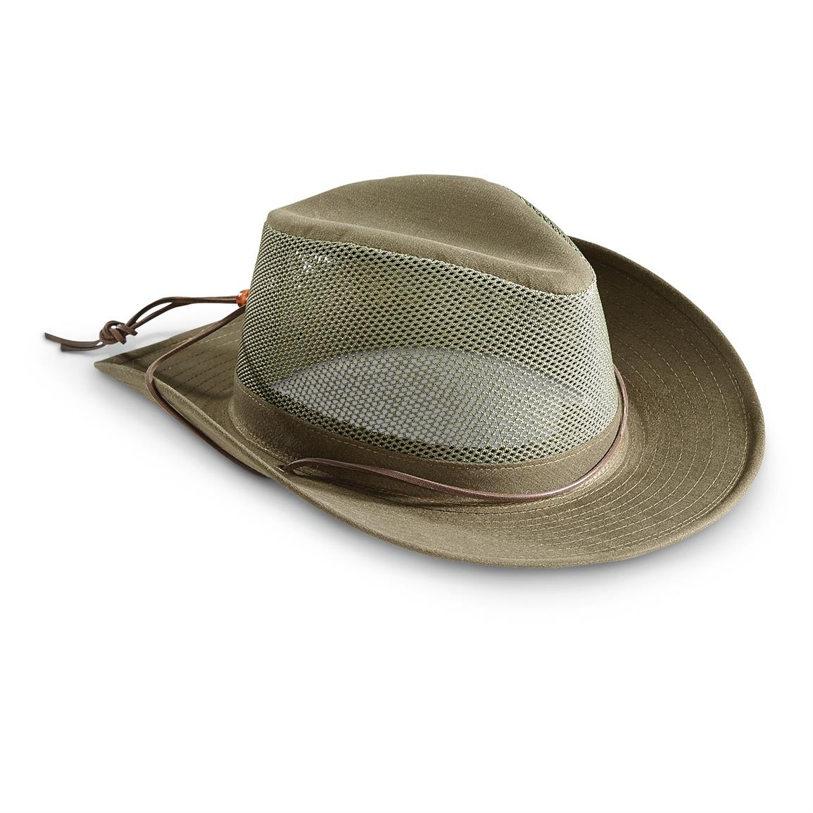 Henschel Breezer Hat with CoolMax Band, Olive