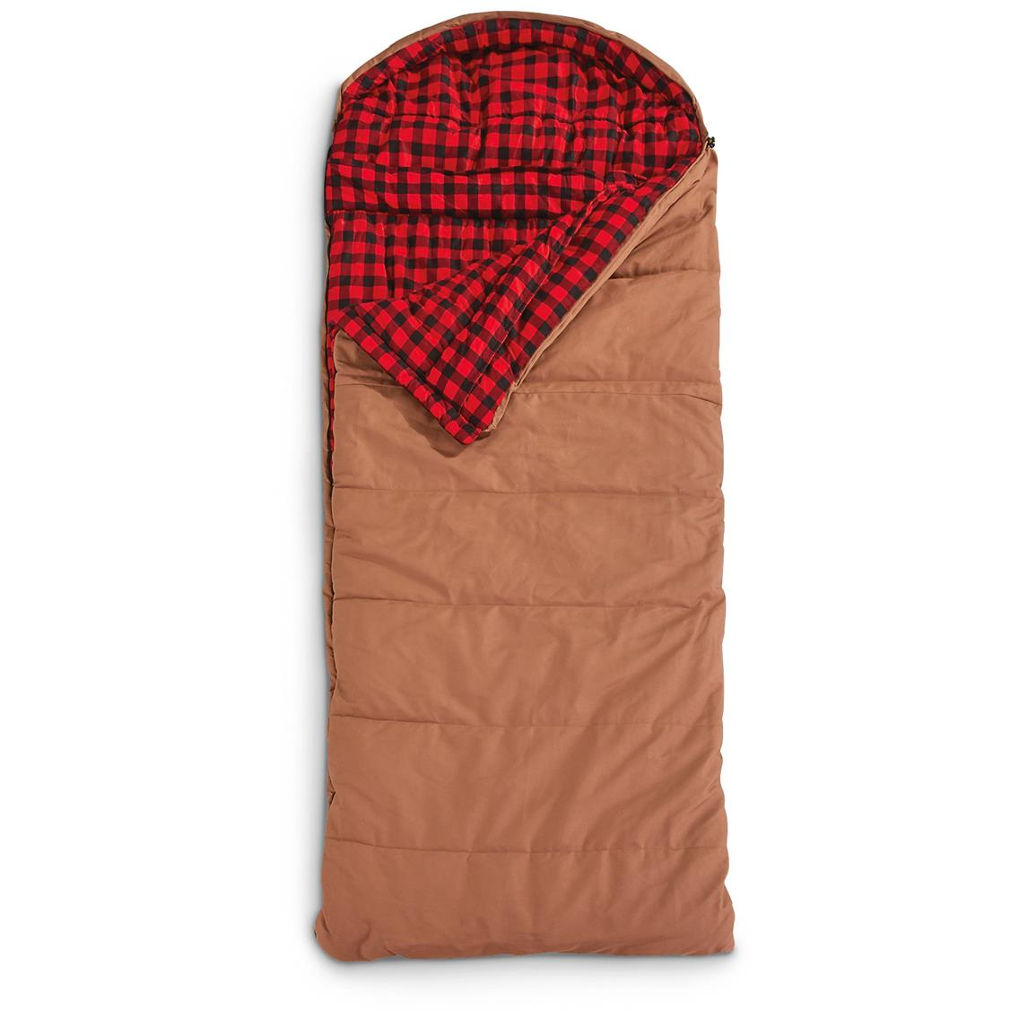 Guide Gear® Rectangle Canvas Sleeping Bag, -30 Degree