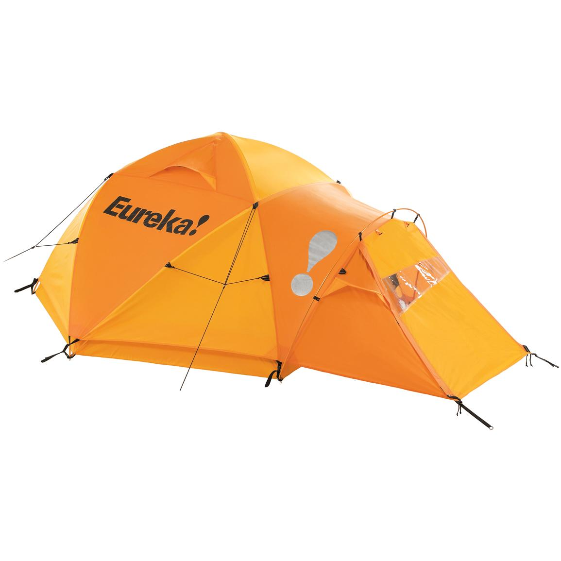 Eureka!® K-2 XT Tent, Yellow with Rainfly