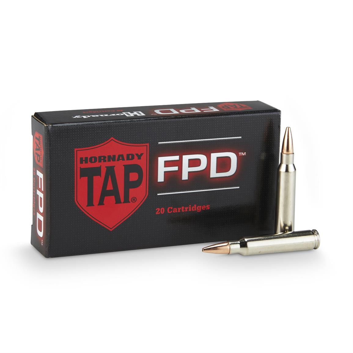 Hornady® Tap™ Rifle .223 Rem.® 75 Grain TAP-FPD 20 rounds