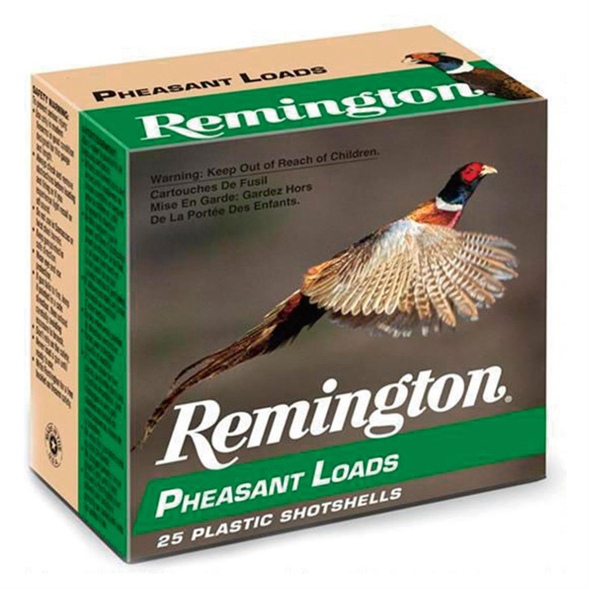 "Remington Pheasant Loads, 2 3/4"" 16 Gauge, 1 1/8 ozs., 25 Rounds"