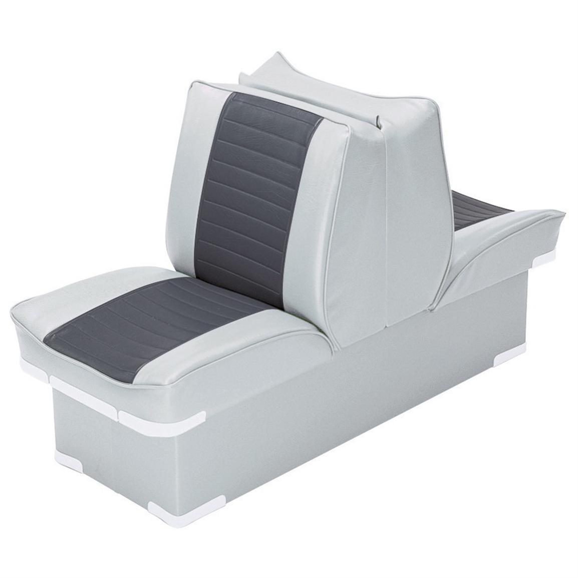 Wise Boat Lounge Seat, Grey / Charcoal
