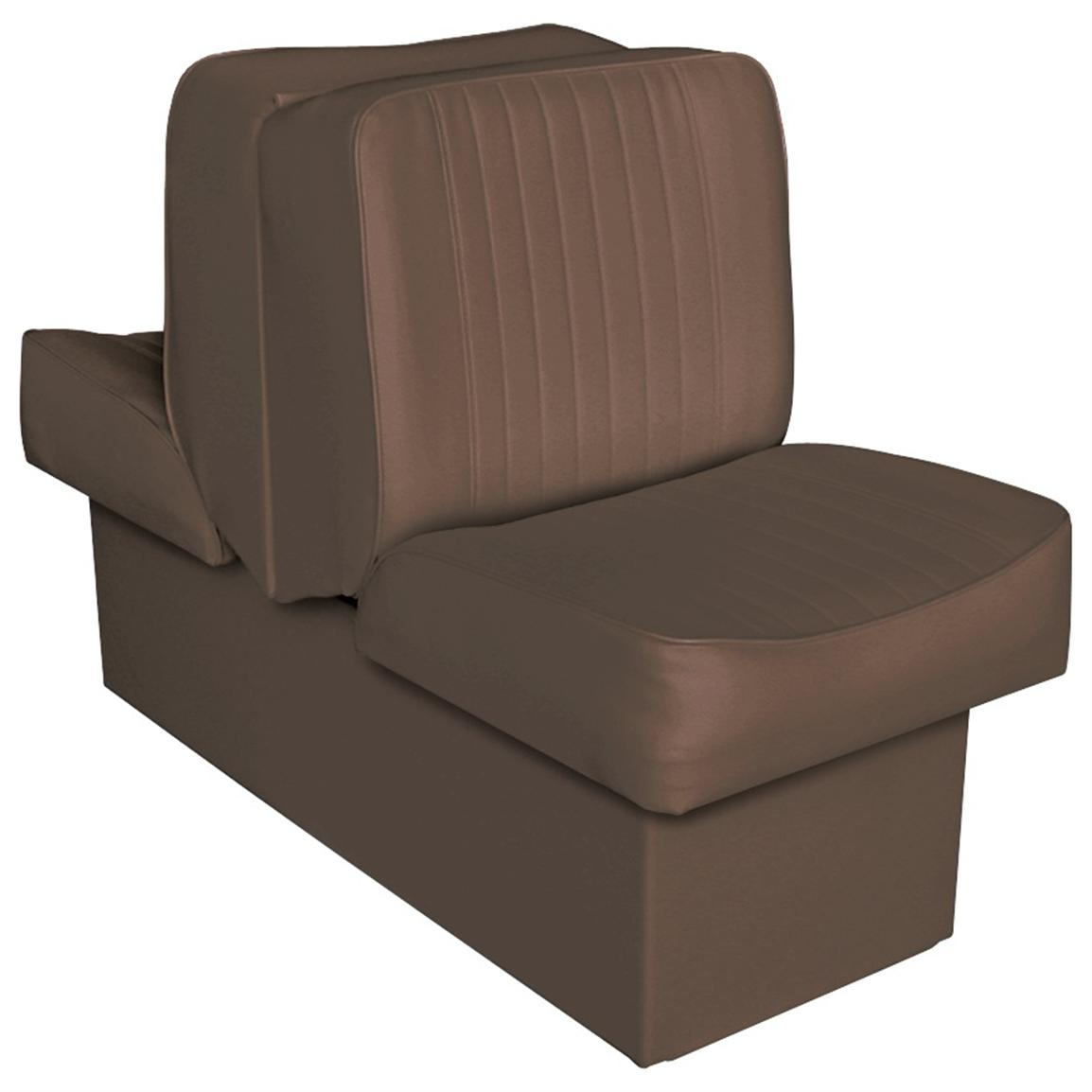 Wise Deluxe Boat Lounge Seat, Brown