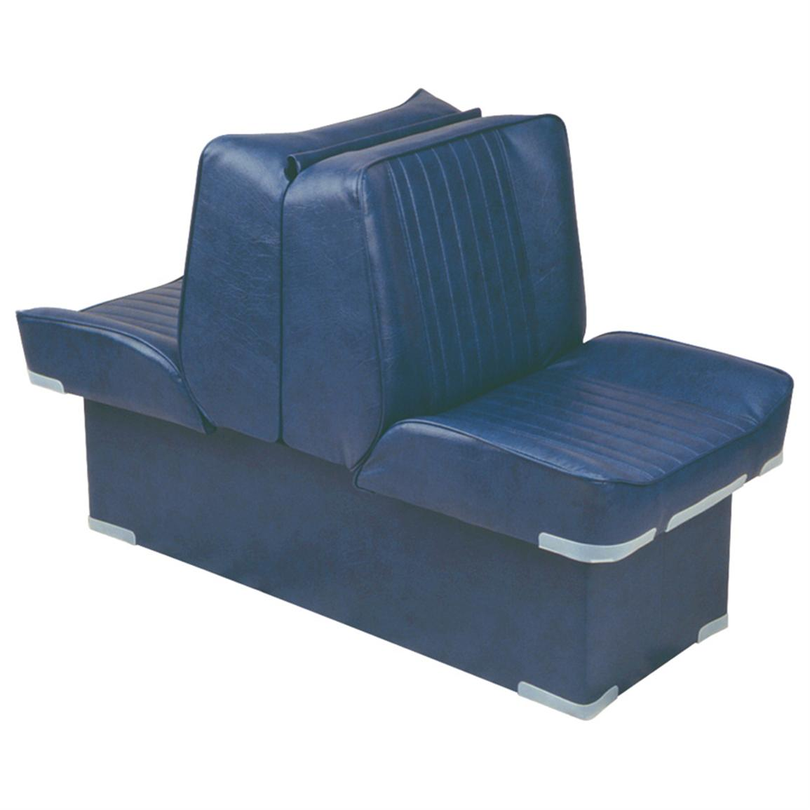 Wise Deluxe Boat Lounge Seat, Navy
