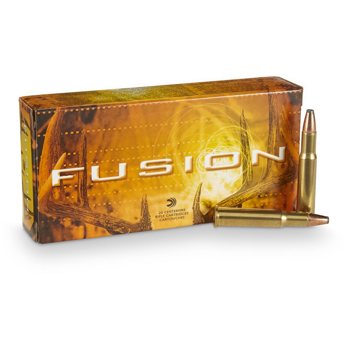 Federal Fusion .30-30 Winchester, FN, 150 Grain, 20 Rounds