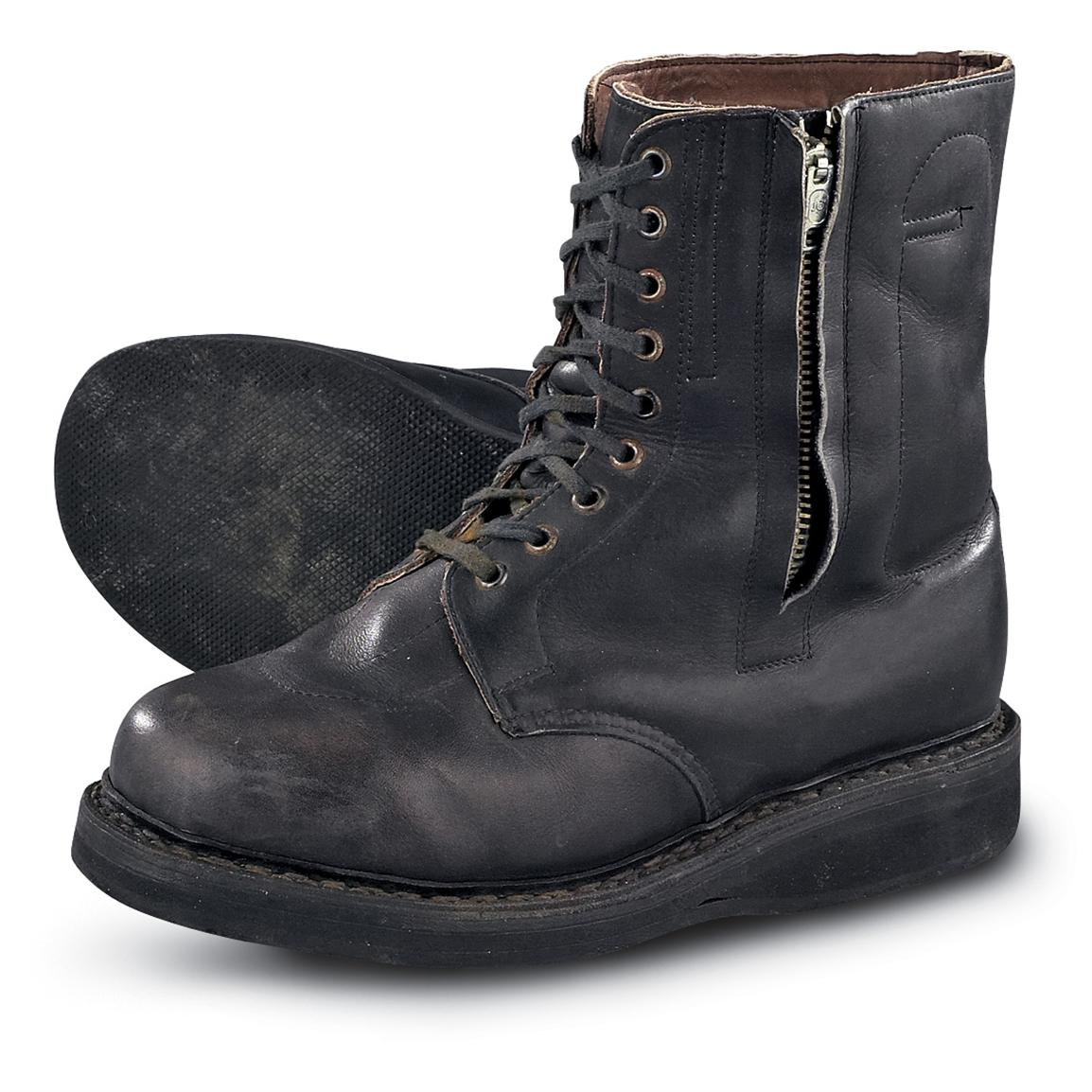 Used Mil.-issue East German Insulated Pilot Boots