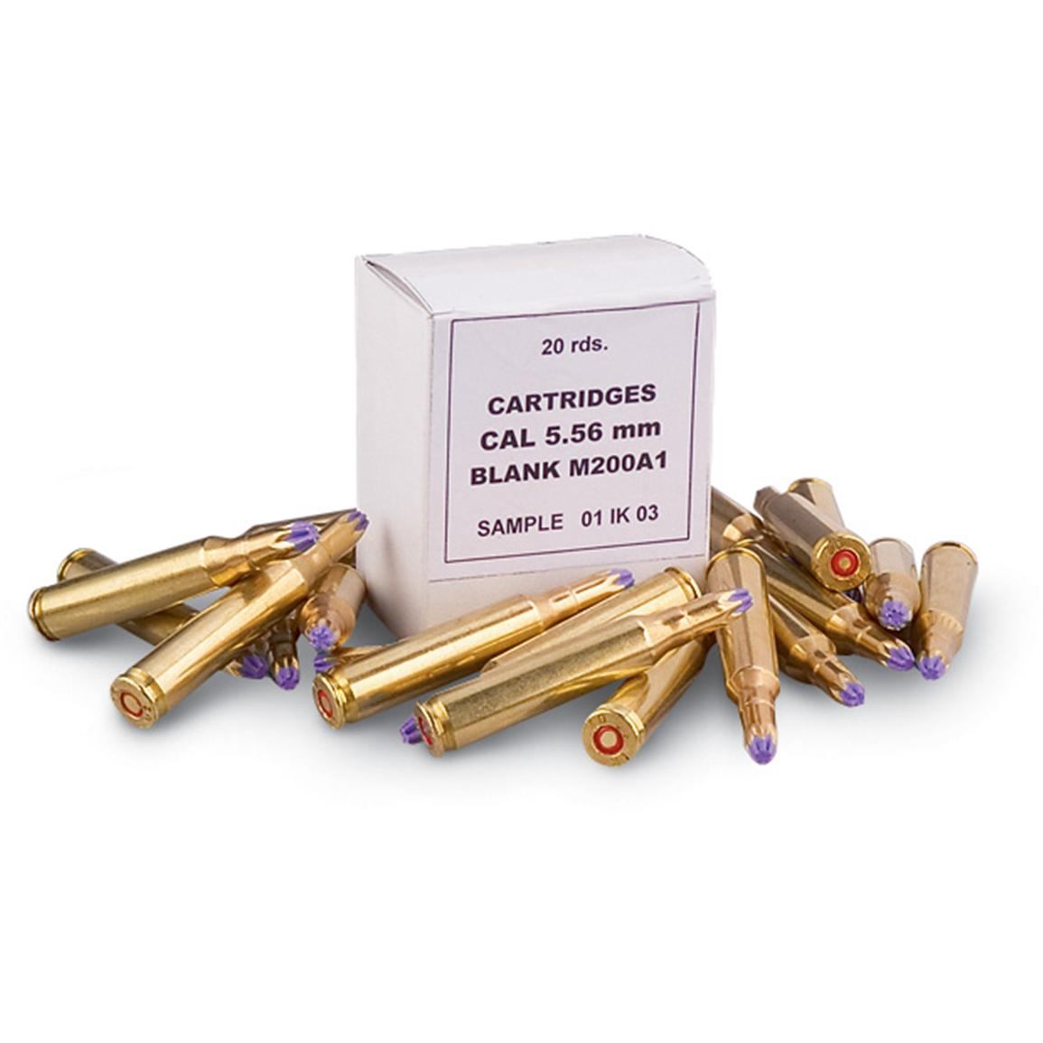 .223, M200, Blank, 250 Rounds