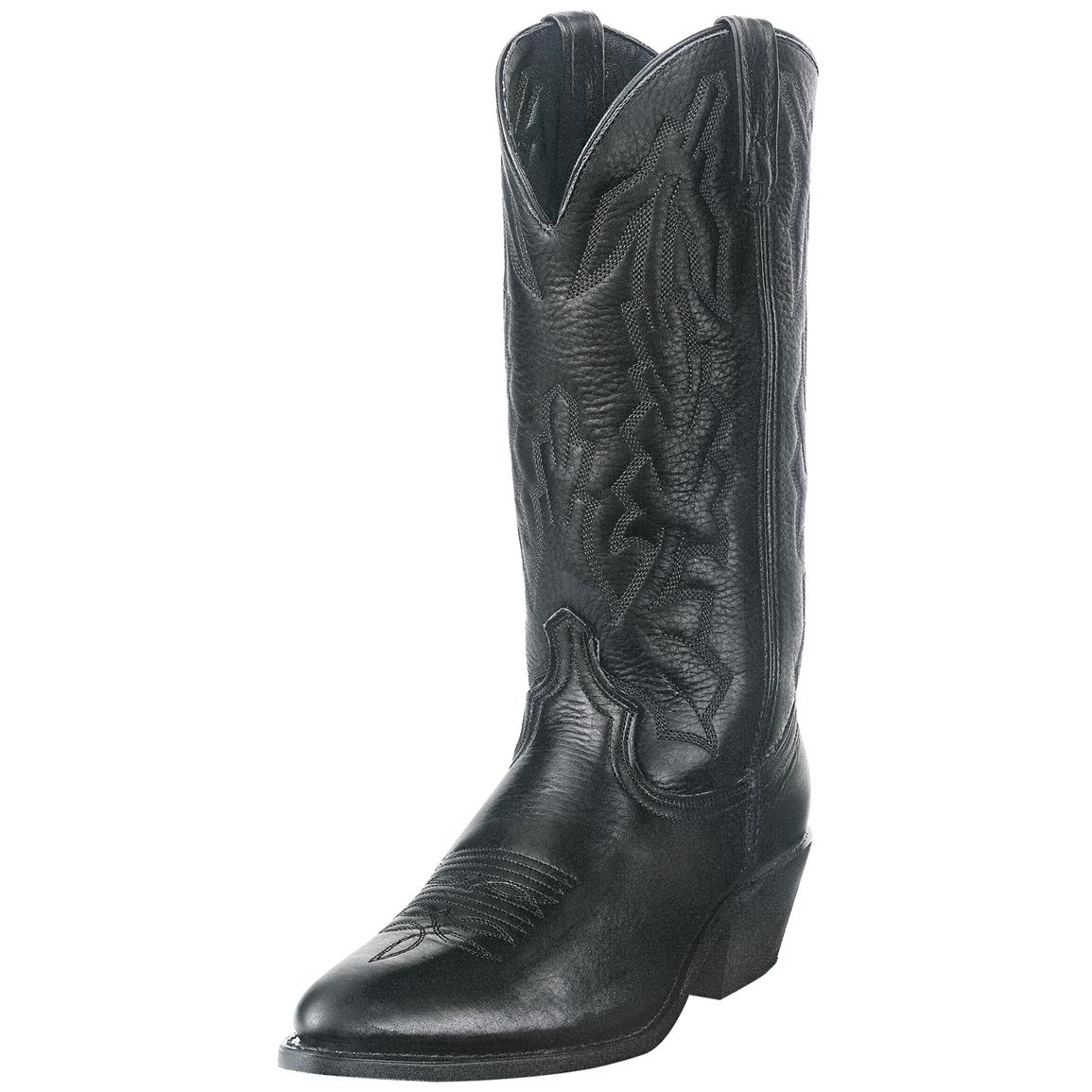 "Men's Laredo 13"" Deertan Boot, Black"