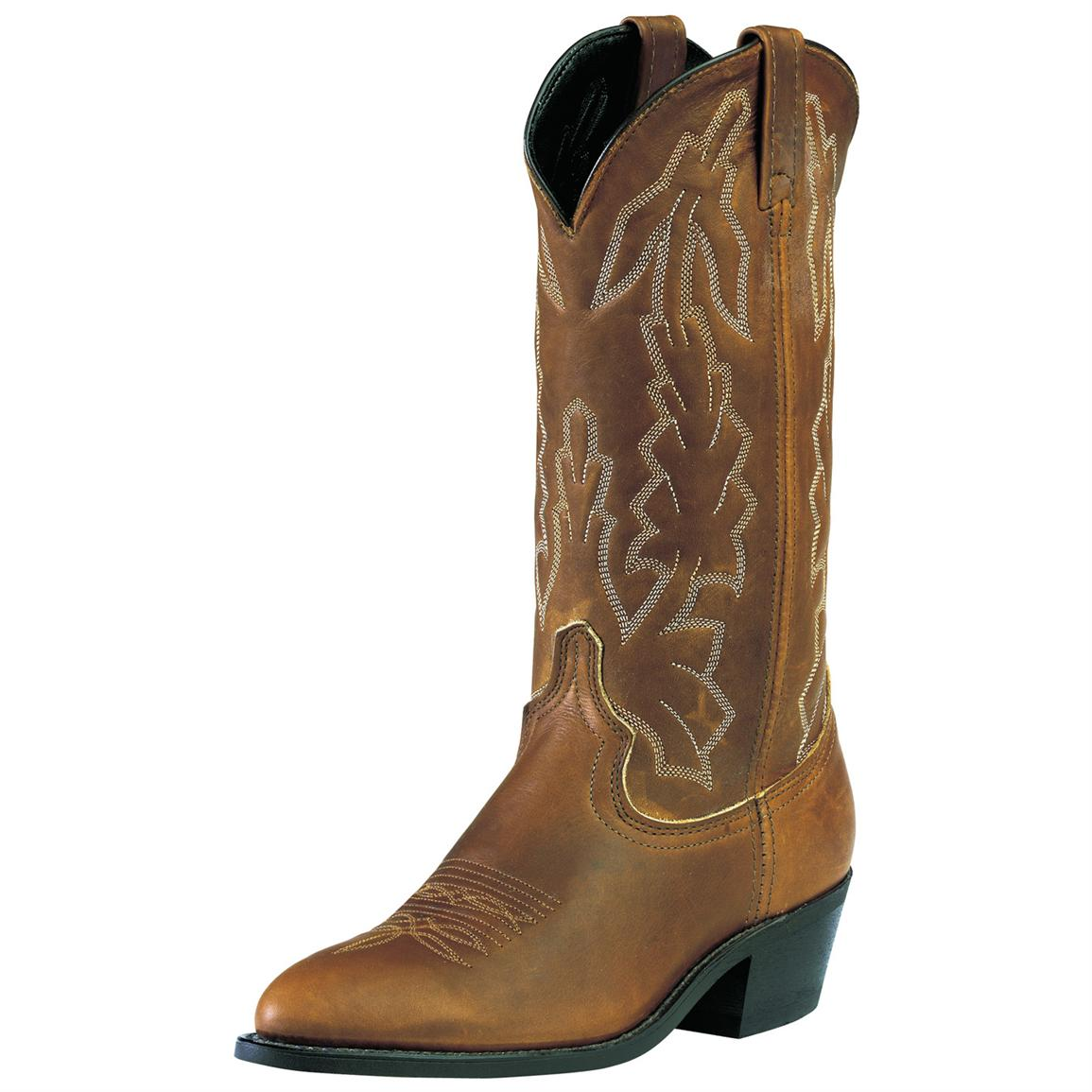 "Men's Laredo 13"" Deertan Boot, Walnut"