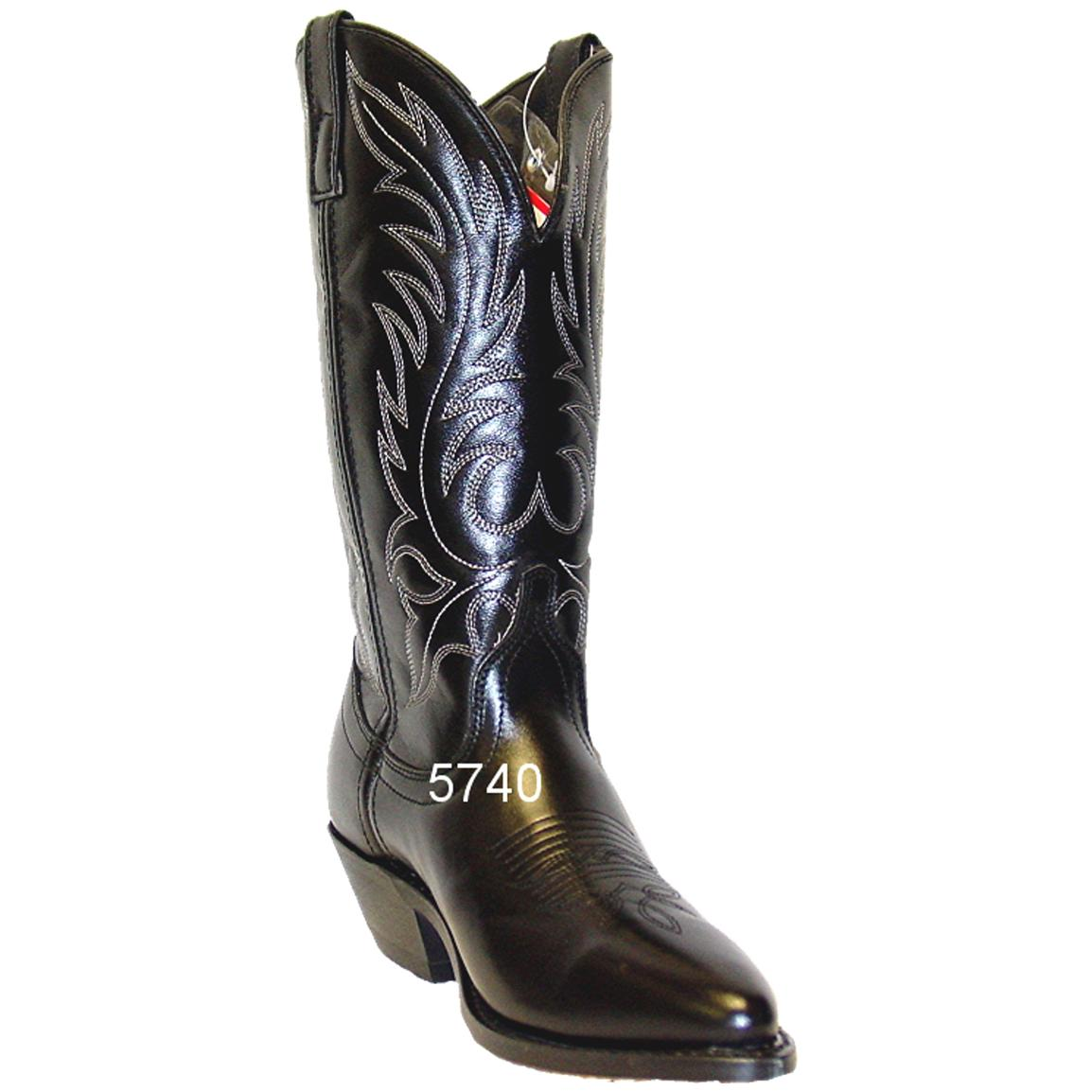 american west 11 leather boot black 208056 cowboy