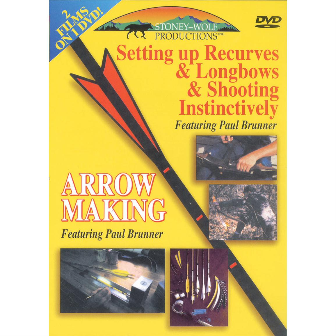 Arrow Making / Setting up Recurves & Longbows & Shooting Instinctively DVD