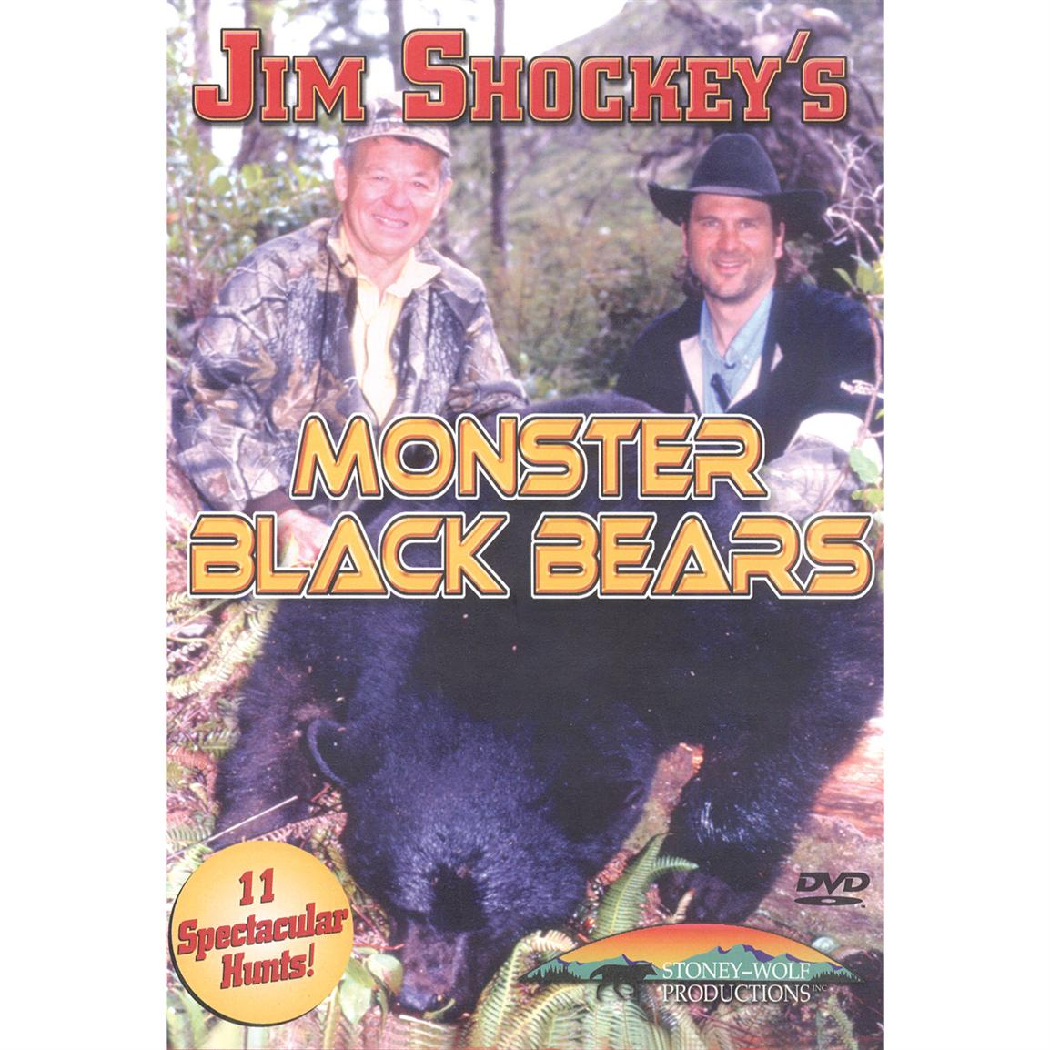 Monster Black Bears DVD