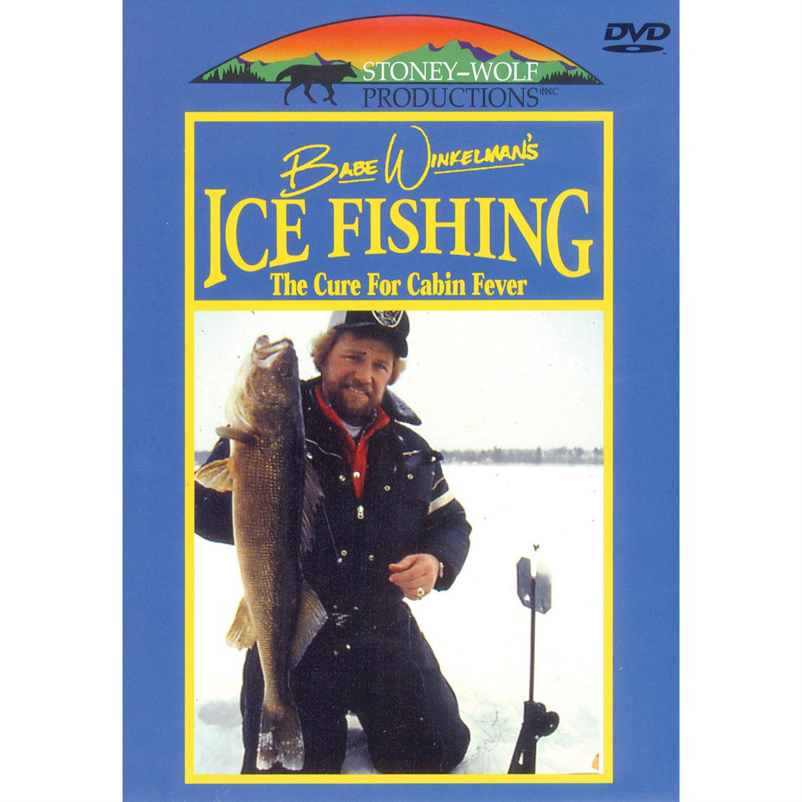 Ice Fishing - The Cure for Cabin Fever DVD