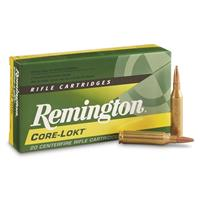 Remington, .243 Winchester, PSP Core-Lokt, 100 Grain, 20 Rounds
