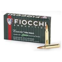 Fiocchi Exacta® .308 Win. 168 Grain Rifle Ammo, 20 Rounds