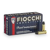 Fiocchi Shooting Dynamics, .38 Special, LRN, 158 Grain, 50 Rounds