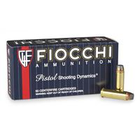 Fiocchi Shooting Dynamics, .38 Special, SJSP, 125 Grain, 50 Rounds